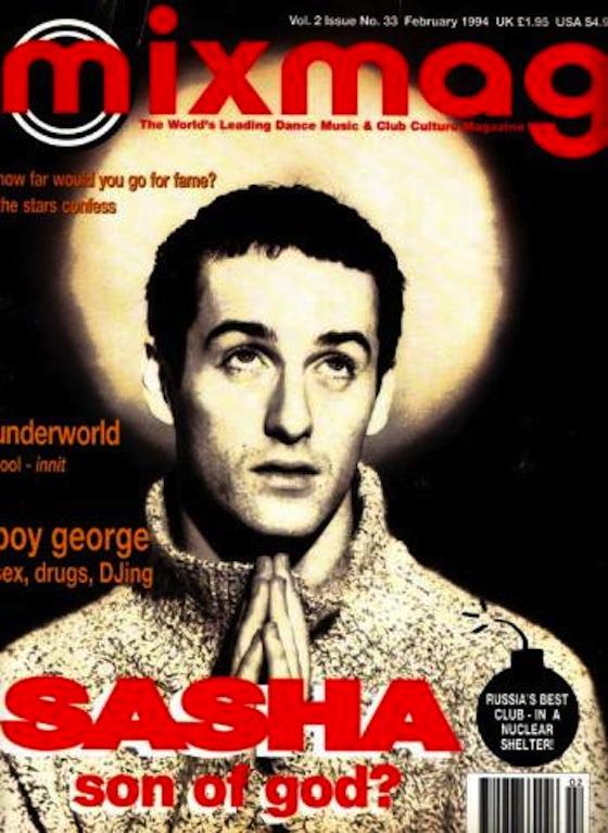 Sasha. Mixmag