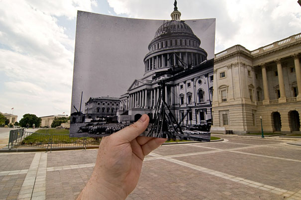 US Capitol Under Construction, Washington, DC. Блог Губина Кирилла