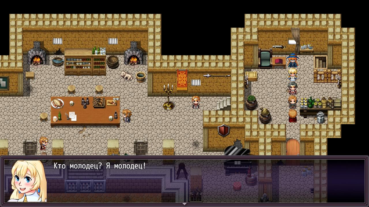 Heroines of Swords & Spells. Страница игры в Steam!