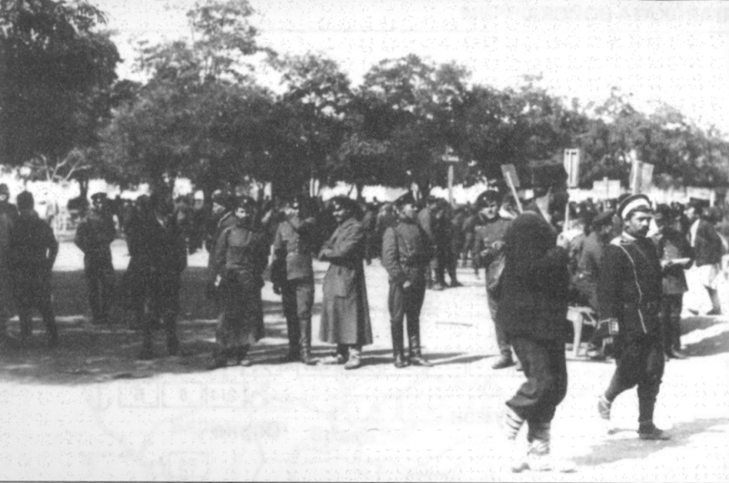 Mobilization_of_First_Sofia_Infantry_Regiment_in_1912