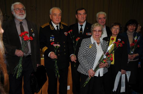 Ветераны и дети блокадного Ленинграда
