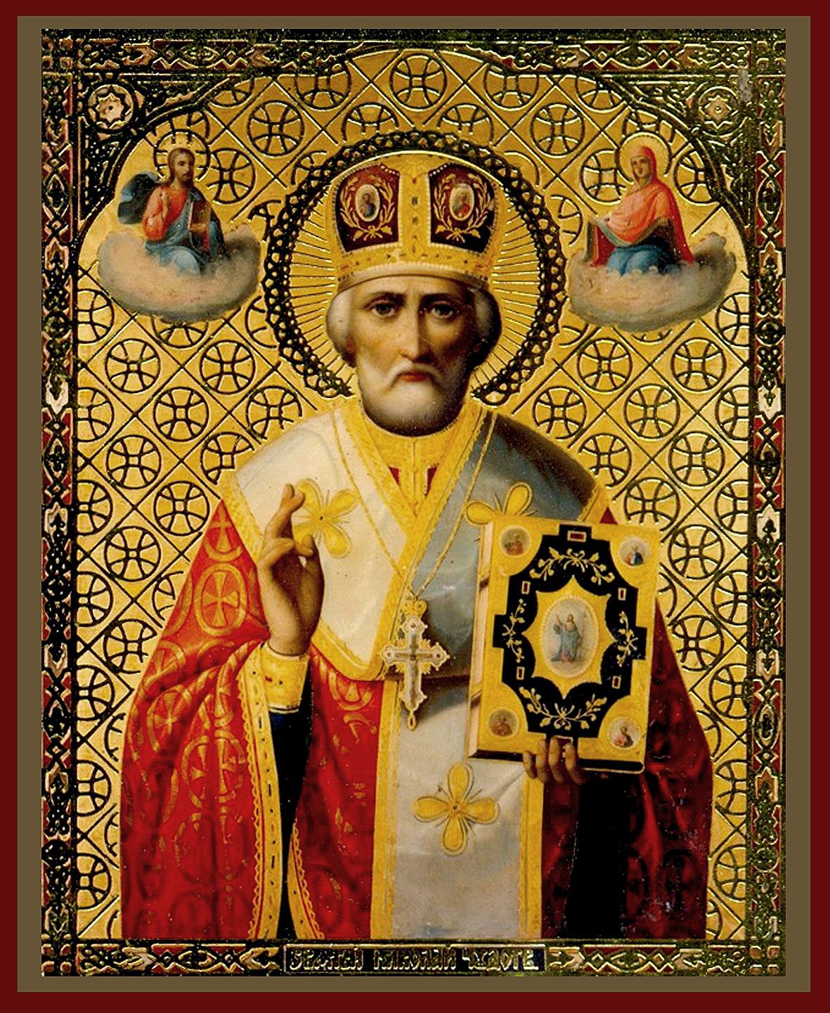 правило, картинки на смартфон с ликами святых единственного европейского народа