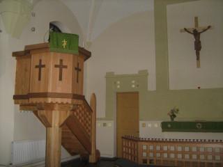 Terijoen kirkko - saarnatuoli