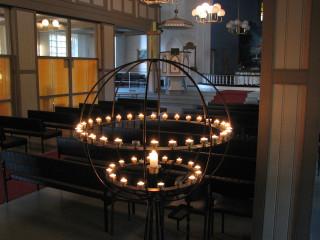 Kupanitsan kirkonhallissa