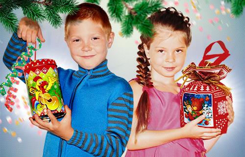 Новогодние сладкие подарки в кирове