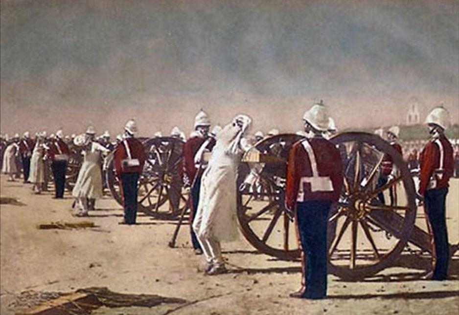 the invasion of india by the british colony