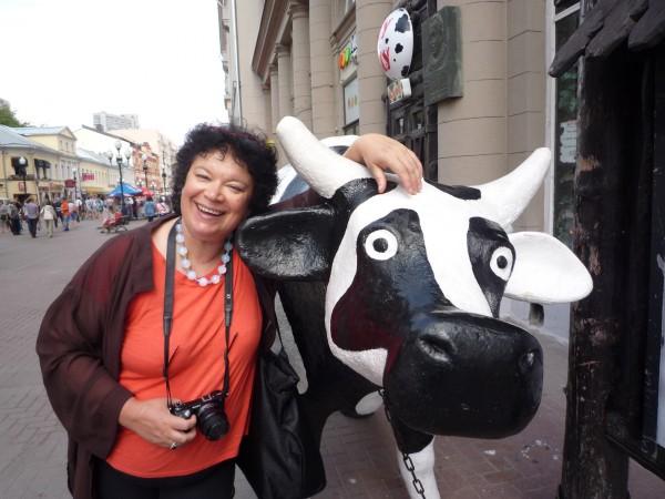 корова на Арбате