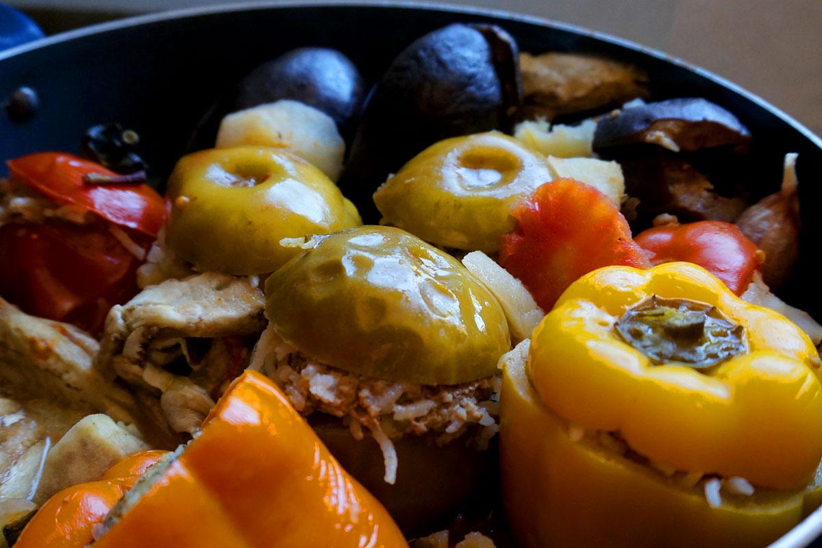 это овощная долма по азербайджански рецепт с фото поделки