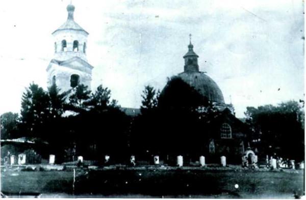 Сажинская церковь 1934