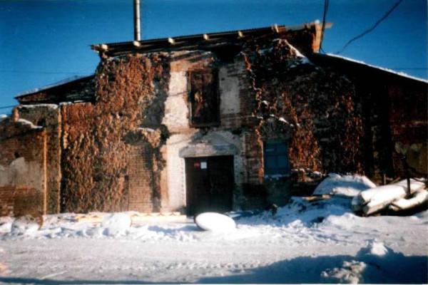 Сажинская церковь 2007