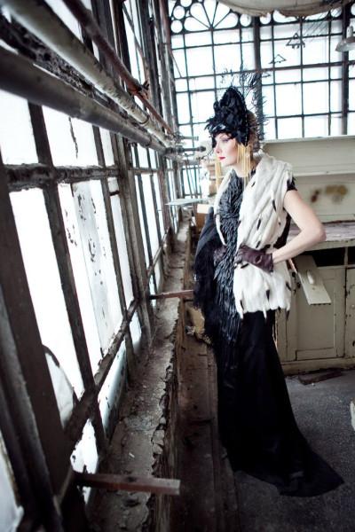 платье с воронами 1