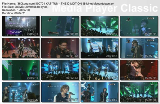 [01.07.2010] KAT-TUN – Talk (with C.N.Blue MinHyuk)  S640x480