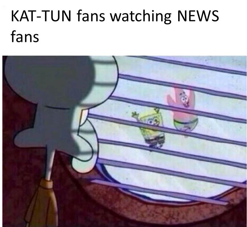 kat-tun fans watching other JE Fans 1