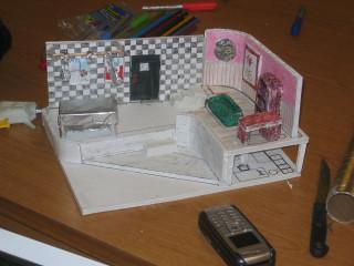 Set model, view 2