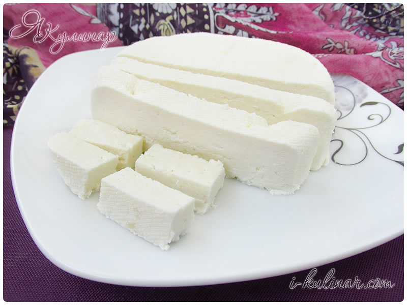 Сыр панир в домашних условиях