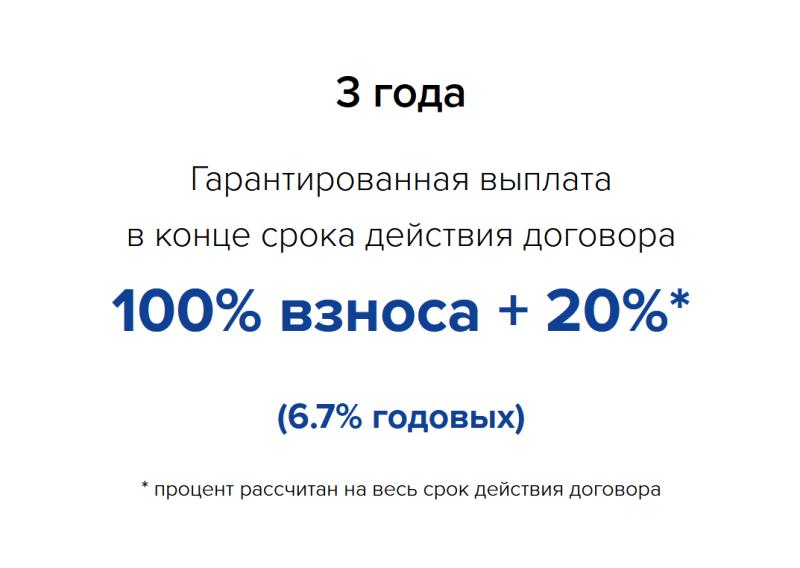 Скриншот со сайта страховой компании (25.09.2020)