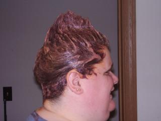 Bad Hair Day; Side Shot