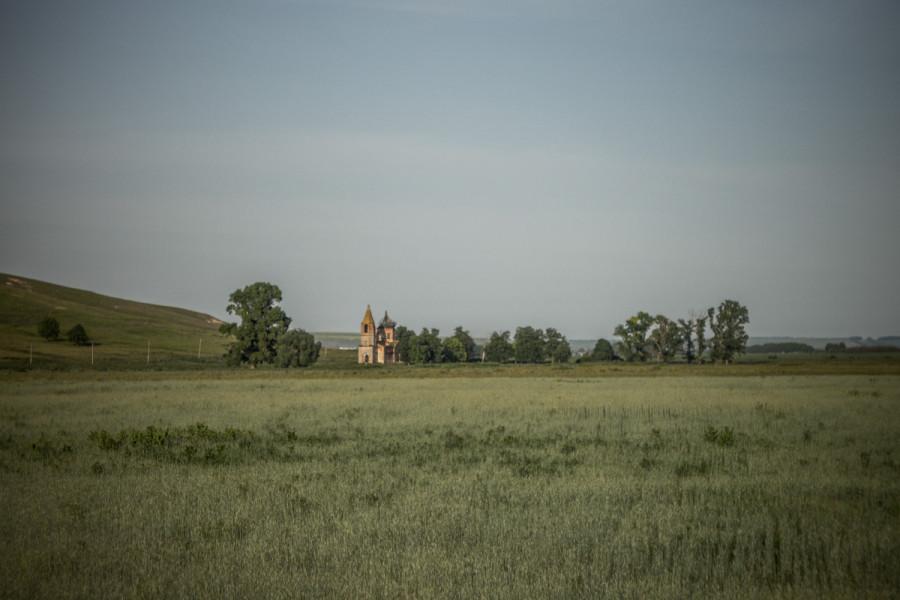 Забытая церковь исчезнувшего села Богодухово © Никита Перфильев