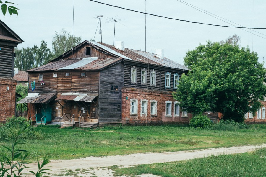 Полукамушки в Зеленодольске © Никита Перфильев