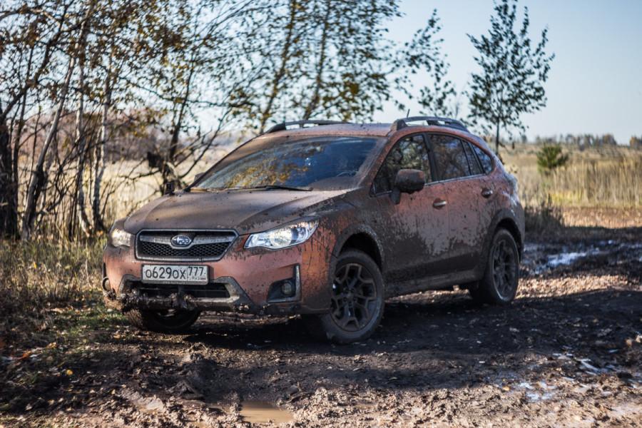 Грязный weekend от Subaru в Казани © Никита Перфильев
