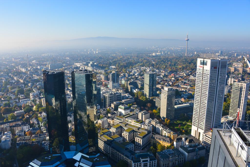 Как выглядит Франкфурт-на-Майне сверху?