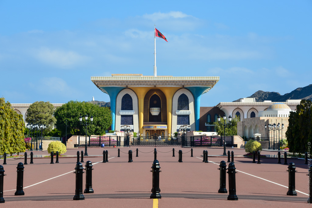 Где живет Султан? Или коротко про Маскат