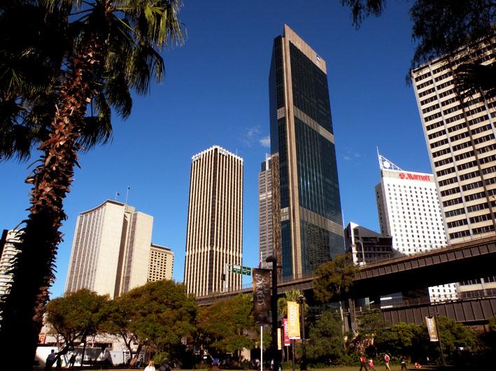 Вид на центр Сиднея