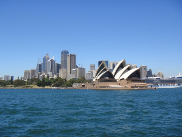 Sydney Opera House, from a ferry