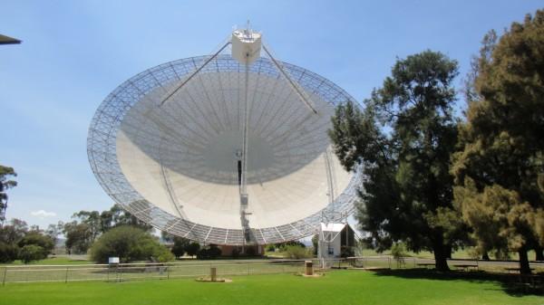 Telescope dish, huge