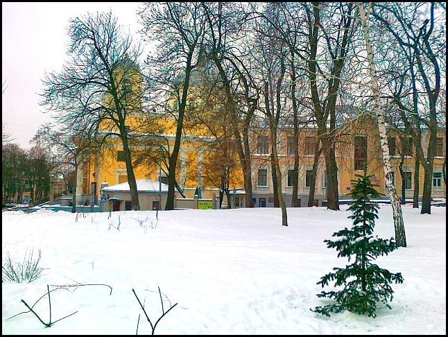 Киев. Участок Владимирской горки