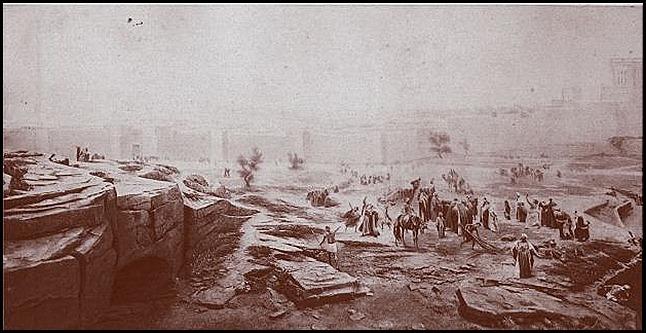"Киев. Панорама ""Голгофа""  (фрагмент 4)"