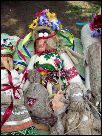 Киев. Традиционная украинская кукла