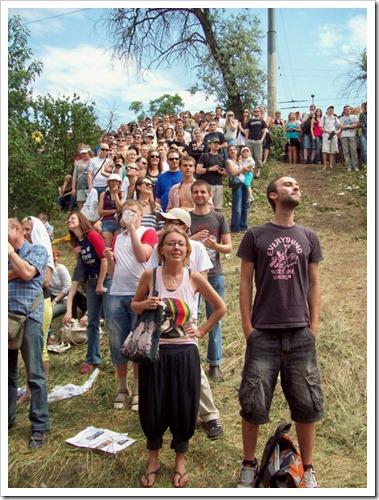 Киев.1 Red Bull Flugtag--Зрители