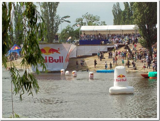 Киев.1 Red Bull Flugtag--Акватория приземления