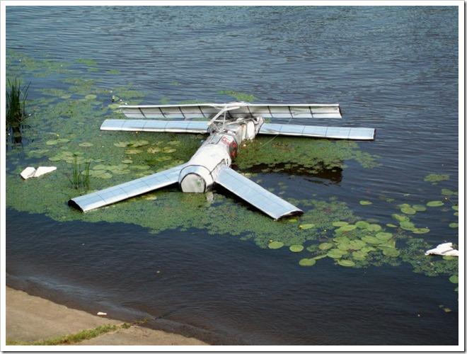 Киев.1 Red Bull Flugtag--Обломки летательного аппарата