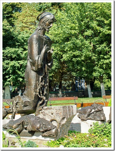 Памятник Христу