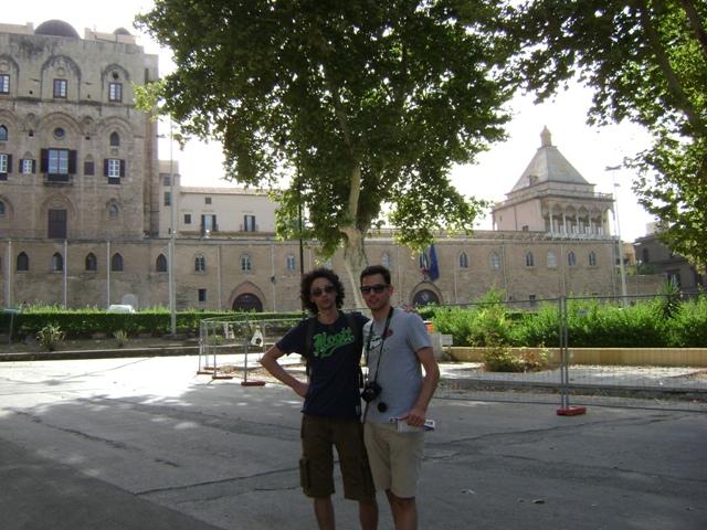 Наше путешествие от Ламеции до Палермо