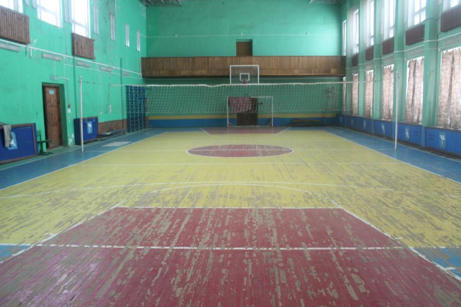 Спортзал филиала