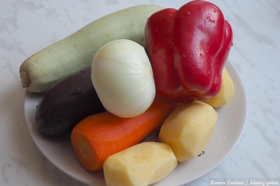 Овощное рагу - вкусно и питательно