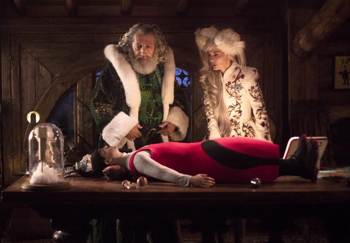 Санта плохой и хороший