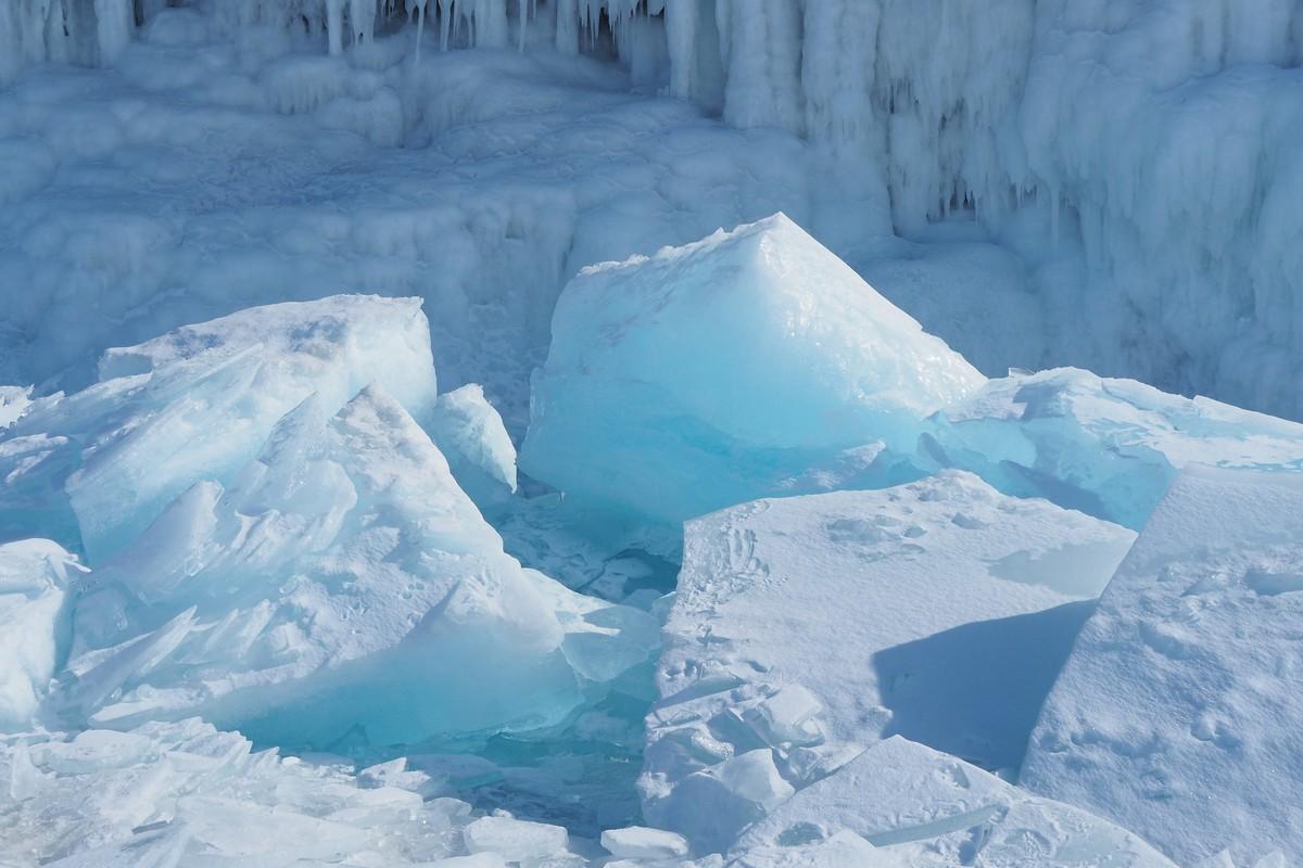 Ледяная сказка Байкала