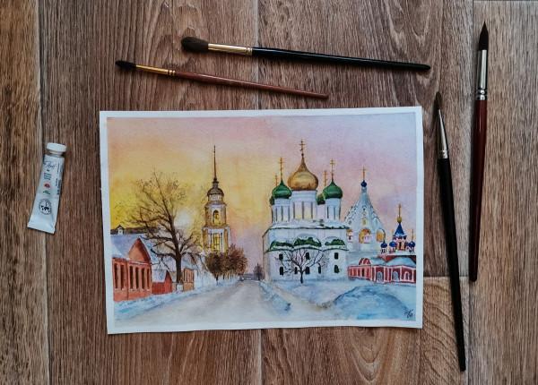 Снежная Коломна