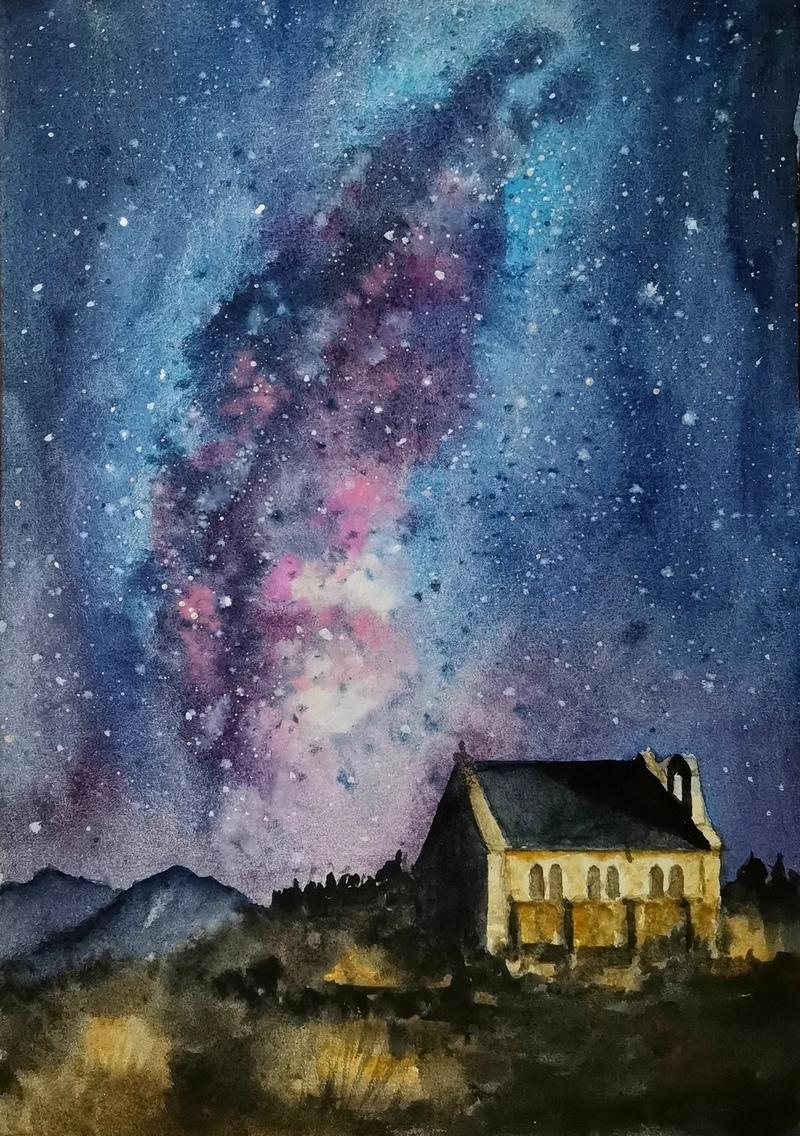 Манящий свет звезд