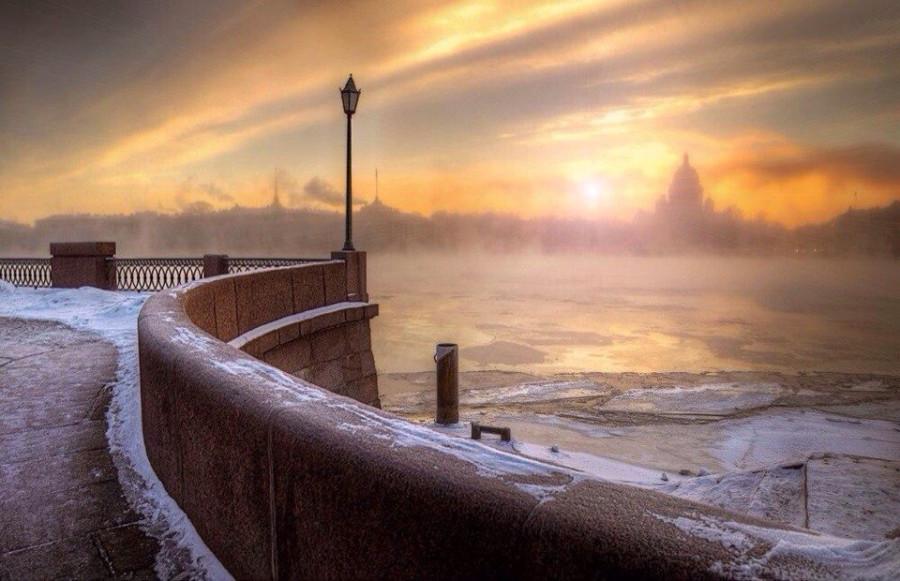 Где-то есть город, тихий как сон...