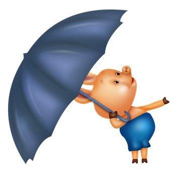 кажется дождик собирается