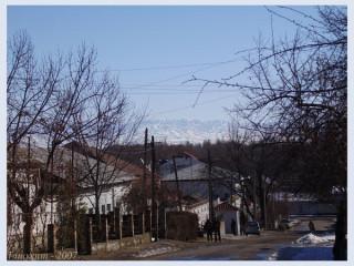 Горы вокруг Ташкента