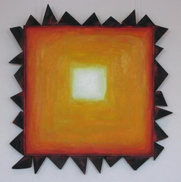 Солнце Ван Гога м