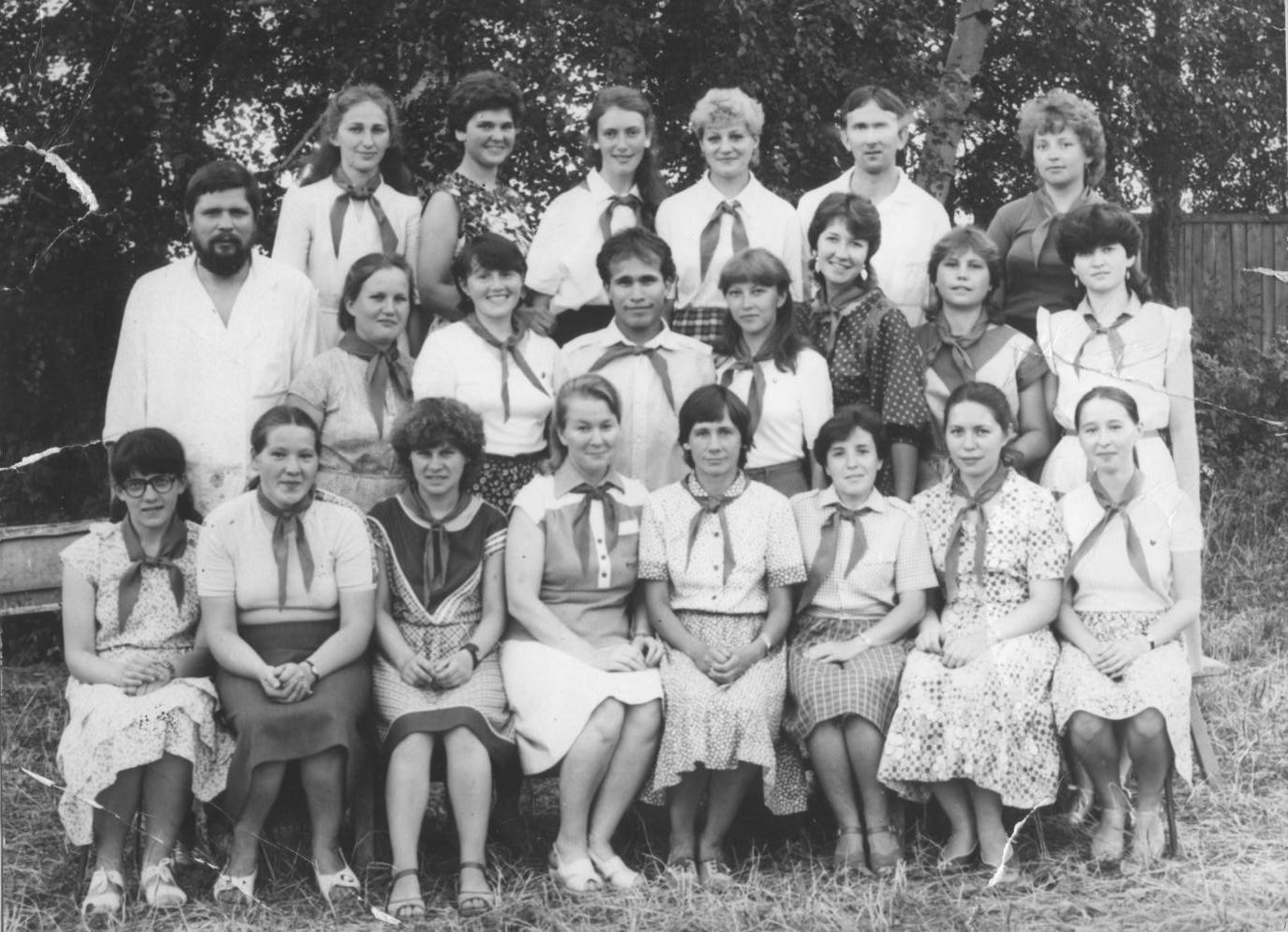 Пионерлагерь Звездочка. 1985