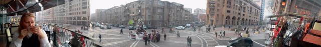 Армения, Ереван, январь 2011