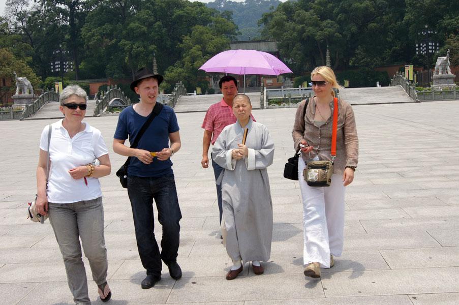 Китайский проводник: Чаньский монастырь Наньхуасы, Южный Китай, Шаогуань